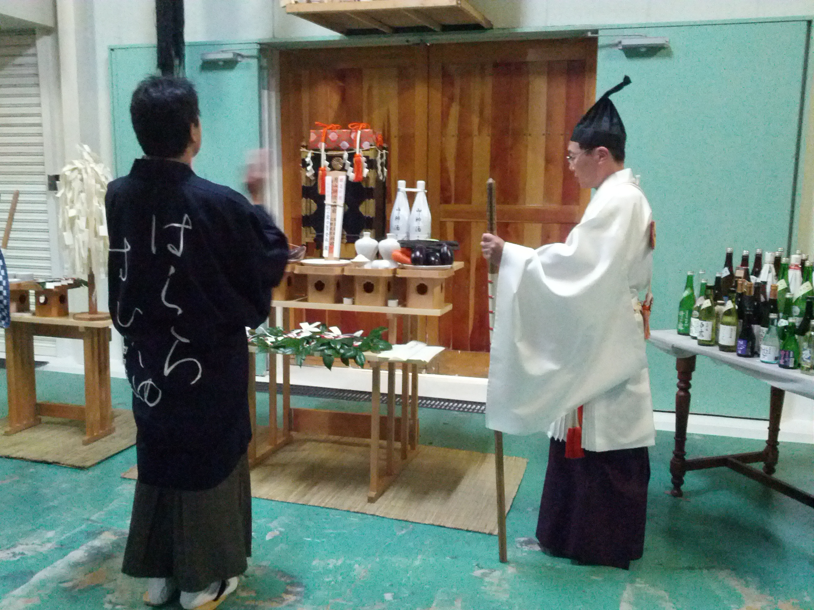 2012竹の露完醸祈願祭